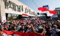 المتظاهرين العزل بين عراقية الجيش والشرطة..وإيرانية الحشد وقوات الشغب والامن الوطني والاستخبارت
