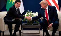 البارزاني يلتقي ترامب على هامش أعمال منتدى دافوس