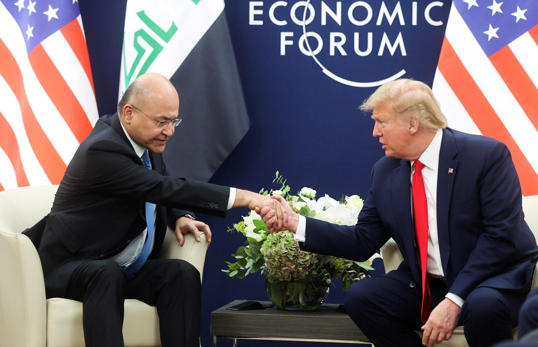 رغم أنف زعاطيط ميليشيات الحشد ..صالح يلتقي ترامب لحماية العراق