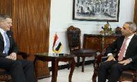 السفير الأمريكي يبحث مع رئيس السلطة القضائية نتائج التحقيق في مهاجمة سفارة بلاده