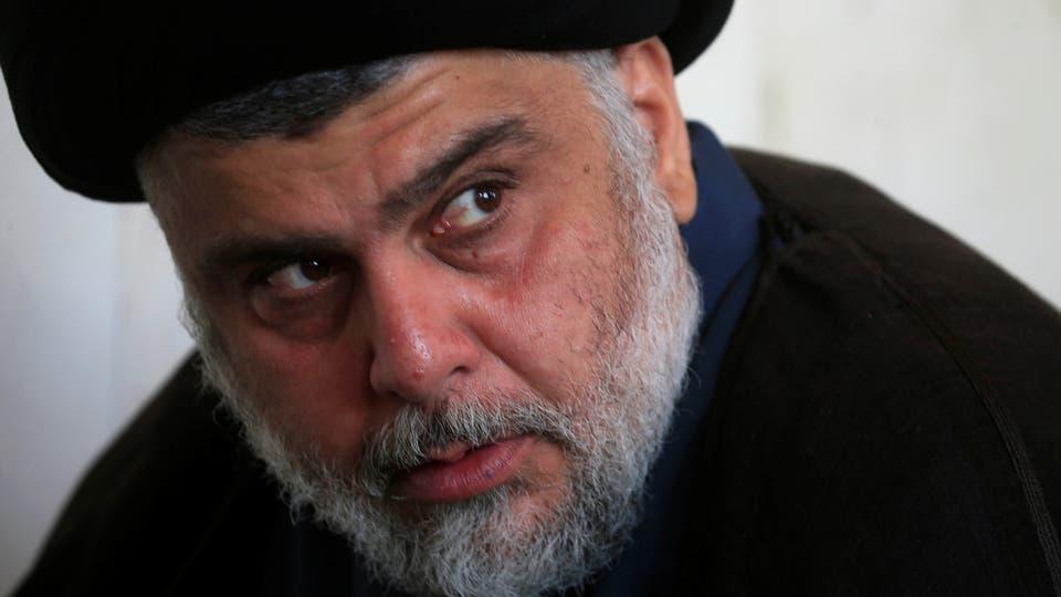 """الصدر"""" زعلان""""على المتظاهرين بعد وصفه بـ""""الذيل الإيراني"""""""