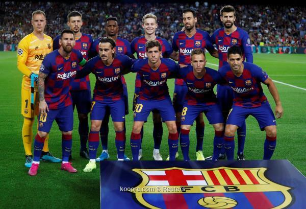 برشلونة يعود للتدريبات استعداداً لمواجهة إيبار