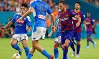 اليوم  ..مباراة برشلونة مع نابولي الإيطالي