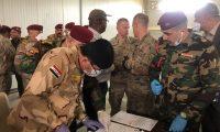 التحالف الدولي ينسحب من قاعدة كي/ا ويترك معدات للجيش العراقي بقيمة مليون دولار