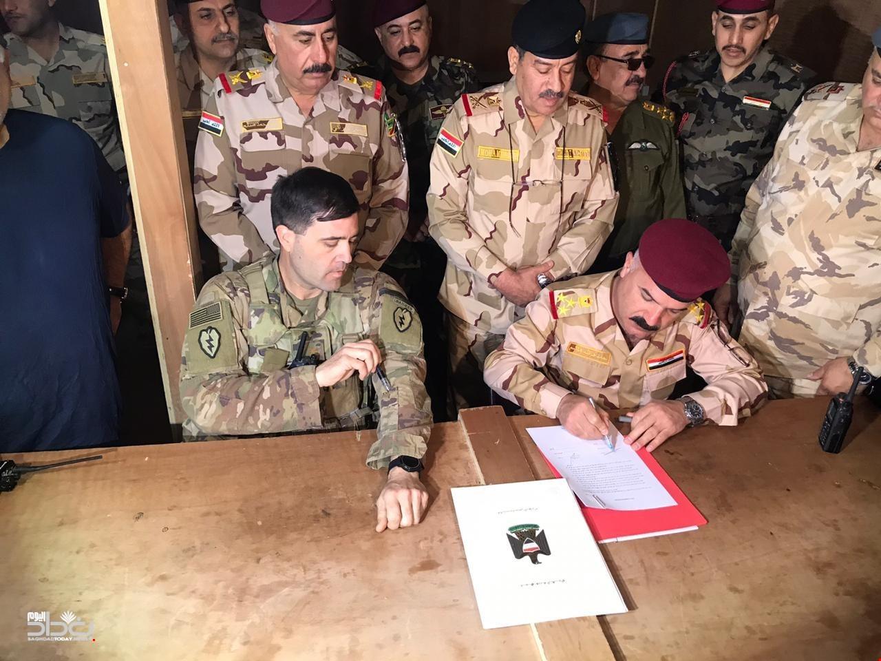 التحالف الدولي:عملية العزم الصلب ستبقى مع الجيش العراقي