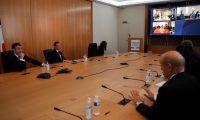 السيسي وماكرون وقادة أفارقة في مؤتمر لمواجهة كورونا