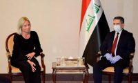 الزرفي يثمن دور بعثة يونامي في العراق