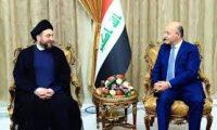 عموري يسلم صالح كتاب مرشح خامئني لرئاسة الوزراء