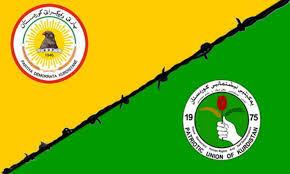 الخلاف بين حزبي بارزاني وطالباني سيؤدي إلى إدارتين منفصلتين في الإقليم
