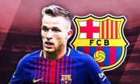برشلونة يعلن عن بيع اللأعب أرتور ميلو الى فريق يوفنتوس