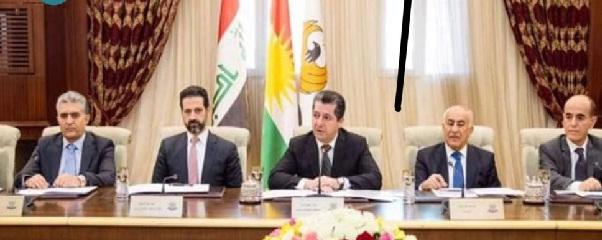 مصدر:حكومة مسرور طالبت السفارة الأمريكية بالضغط على بغداد لتخفيف شروطها بشأن الملف المالي