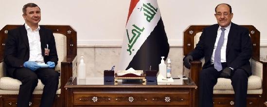 وزير النفط يلتقي المالكي قبل المباشرة بعمله الرسمي!