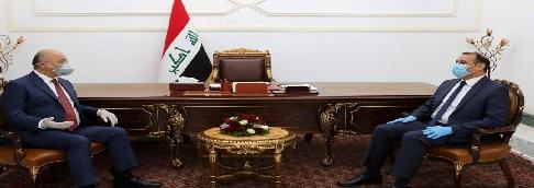 صالح والنجم يؤكدان على تحقيق التنمية الاقتصادية في العراق