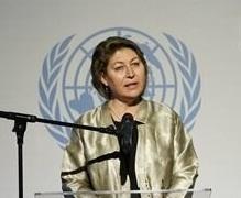 تعيين سولورانو ممثلة للأمين العام للأمم المتحدة في العراق
