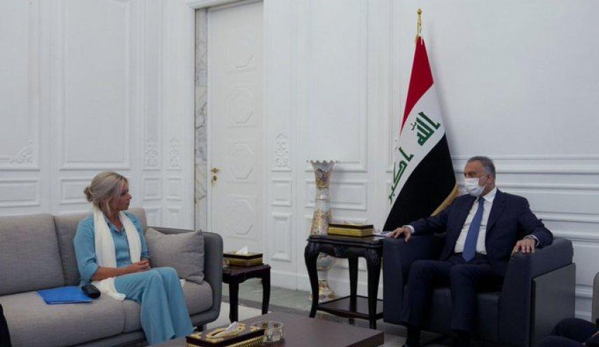 الكاظمي يؤكد على إجراء انتخابات نزيهة بدعم من الأمم المتحدة