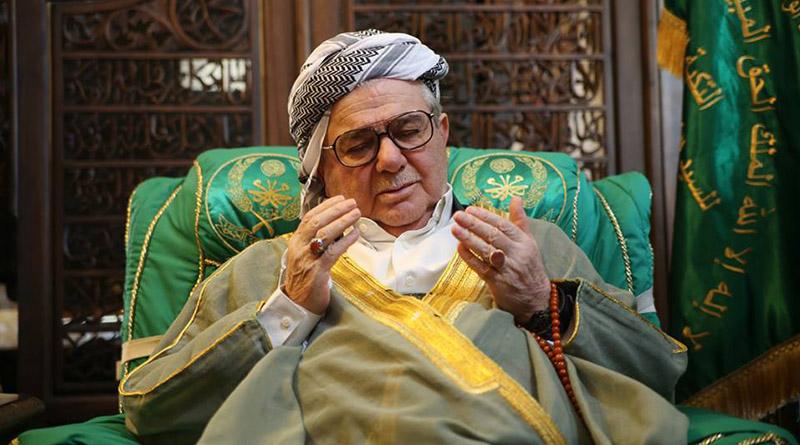 وفاة رئيس الطريقة الكسنزانية في العراق والعالم الشيخ محمد بن عبد الكريم الكسنزاني