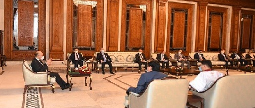 صالح يؤكد على أهمية دعم السيادة العراقية