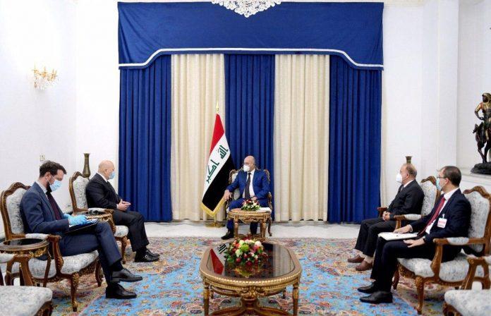 صالح يؤكد على تقديم مجرمي داعش أمام  محكمة دولية مختصة