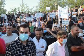 """حزب بارزاني:التظاهرات في الإقليم """"سياسية"""" وليست مطلبية!"""