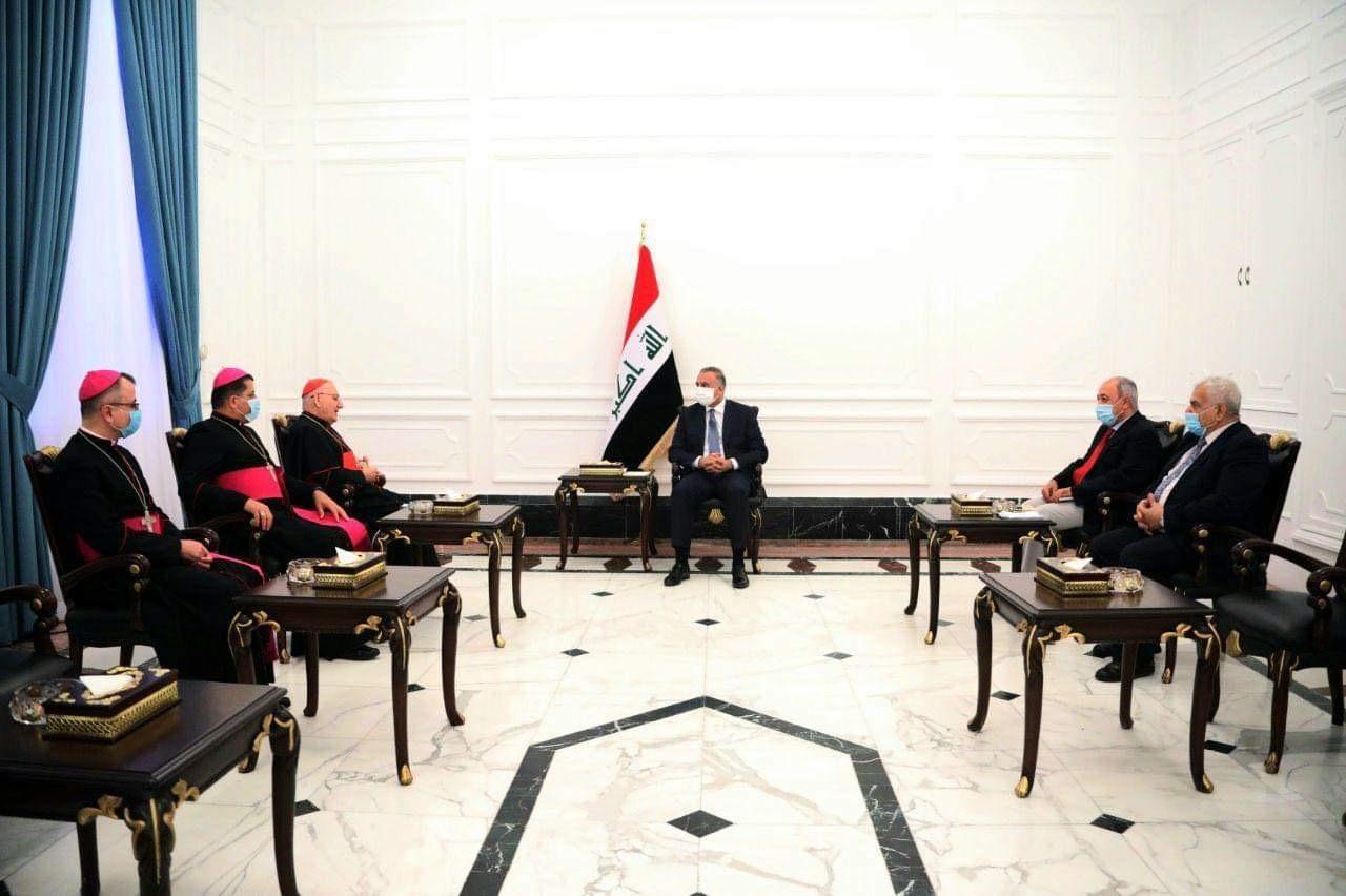 الكاظمي:الحكومة مستعدة لتقديم المساعدة لمسيحيي العراق