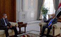 صالح والغانمي يبحثان الوضع الأمني
