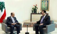الرئيس اللبناني يطلب من الحكومة المستقيلة تصريف الاعمال لحين تشكيل الحكومة الجديدة