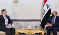 حسين وتولر يبحثان التهديد الأمني على السفارة الأمريكية