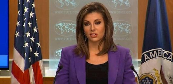"""الخارجية الأمريكية تعبر عن """"غضبها"""" تجاه سقوط ضحايا بصواريخ الحشد الشعبي"""