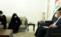 """الكاظمي""""يتعهد""""لعائة المختطف """"سجاد العراقي"""" بإطلاق سراحه والكشف عن """"الجهة الخاطفة"""""""