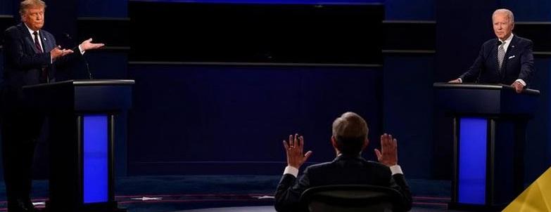 """في أول مناظرة لهما..ترامب لبايدن: أنت """"غبي""""..بايدن لترامب:أنت """"جرو"""" بوتين"""