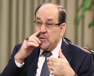 """المالكي:أنا """"غرندايزر"""" العراق والحشد الشعبي """"رمز الانتصار""""!!"""