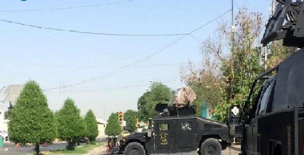 مصدر أمني:حملة تفتيش على مطلقي صواريخ الكاتيوشا من قبل ميليشيا الحشد في منطقة الجادرية