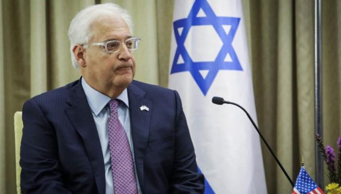 فريدمان:ضم مناطق الضفة الغربية لإسرائيل لم يُلغى