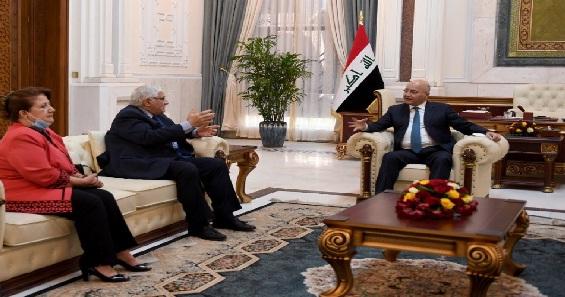 صالح يؤكد على فرض القانون وضمان نزاهة الانتخابات المقبلة