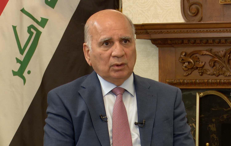 """وزير الخارجية:قرار واشنطن بسحب سفارتها من بغداد """"مجمد""""حالياً"""