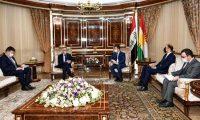 """مسرور:سنجعل الإقليم """"سلة الغذاء""""العراقي"""