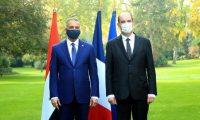 """العراق يوقع ثلاث مذكرات """"إعلان نوايا"""" مع فرنسا في مجالات النقل والزراعة والتعليم"""