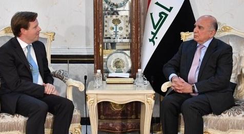 وزير الخارجية والسفير البريطاني يبحثان زيارة الكاظمي إلى لندن