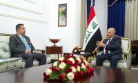 صالح يؤكد على ضمان نزاهة الانتخابات القادمة