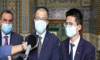 """السفير الصيني:مرجعية السيستاني """"وافقت"""" على قيام الصين بتنفيذ مشاريع في العراق!!"""