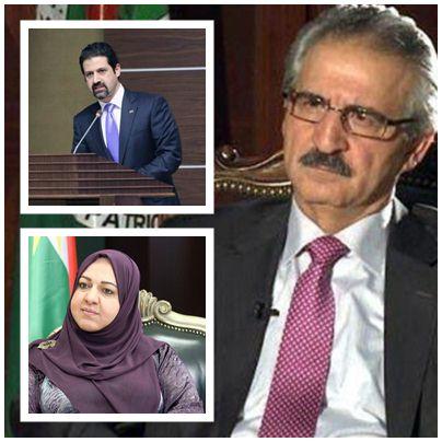 حزب طالباني يجمد عضوية القيادي ملا بختيار وتوجيه إنذار إلى نائب رئيس الوزراء ورئيس برلمان الإقليم