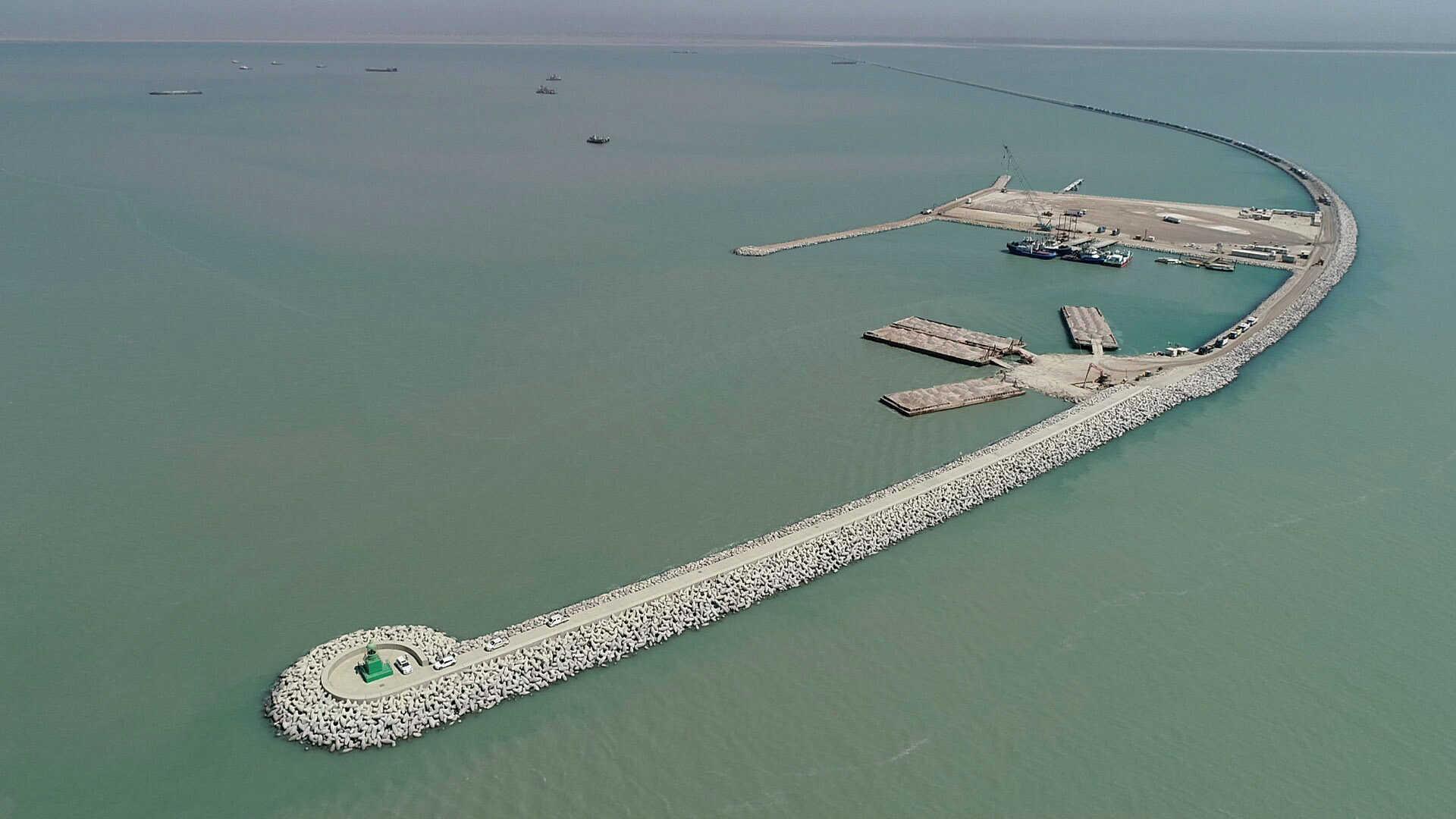 وزارة النقل:المباشرة بأعمال تنفيذ ميناء الفاو من قبل الشركة الكورية