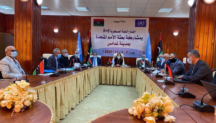 اللجنة العسكرية الليبية المشتركة (5+5) تدعو إلى ترحيل المرتزقة الأجانب