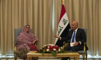 صالح يؤكد على أهمية تعزيز التعاون الثنائي في المجال الدفاعي بين العراق وباكستان