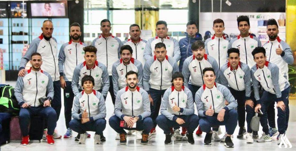 فريق نفط الوسط العراقي بكرة الصالات يتوجه إلى الإمارات للمشاركة في بطولة خورفكان الدولية الثانية
