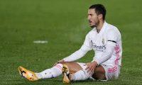اللأعب هازارد يواصل العمل مع ريال مدريد