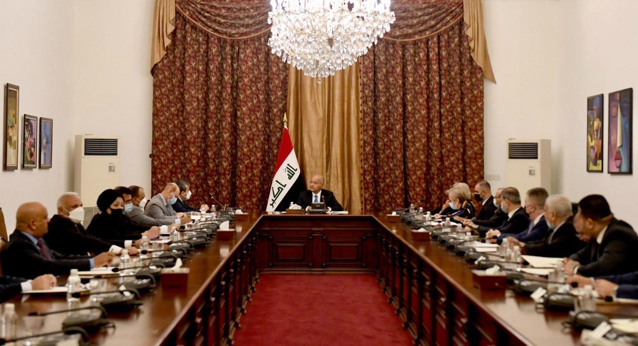 برهم صالح يؤكد على مفوضية الانتخابات بإجراء انتخابات نزيهة وعادلة