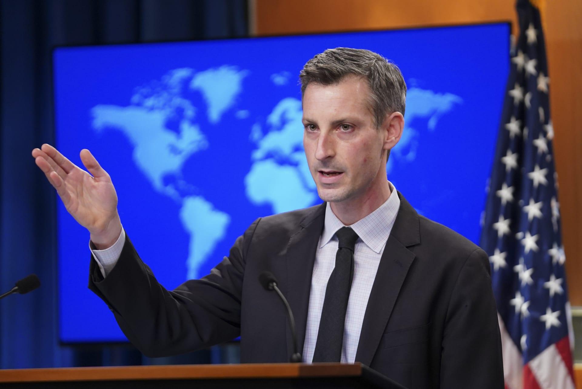 الخارجية الأمريكية:نعمل مع العراق للوصول إلى استقلاله السياسي والاقتصادي