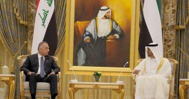 الكاظمي وبن زايد يؤكدان على تعزيز التعاون بين العراق والإمارات