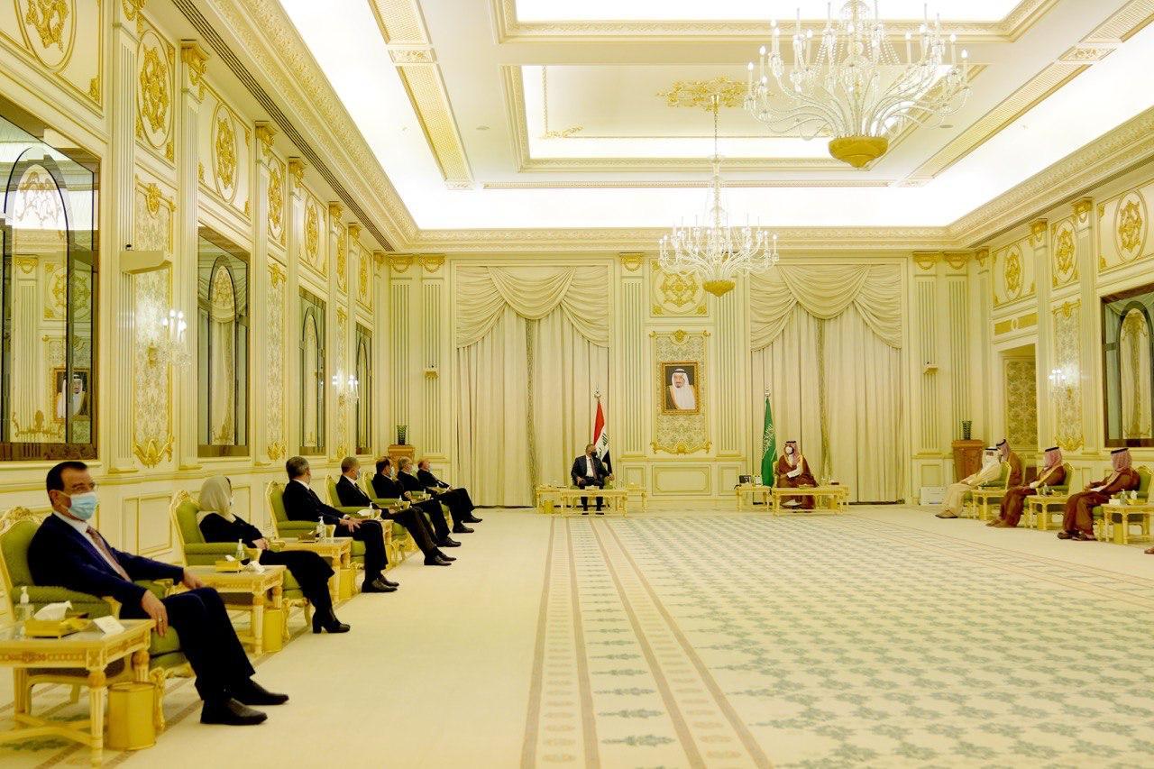 البيان العراقي السعودي المشترك:تعميق أوجه التعاون والتنسيق في كافة المجالات